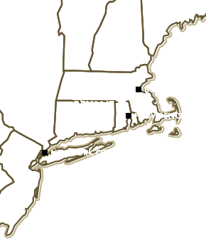 Bryant Map in New England