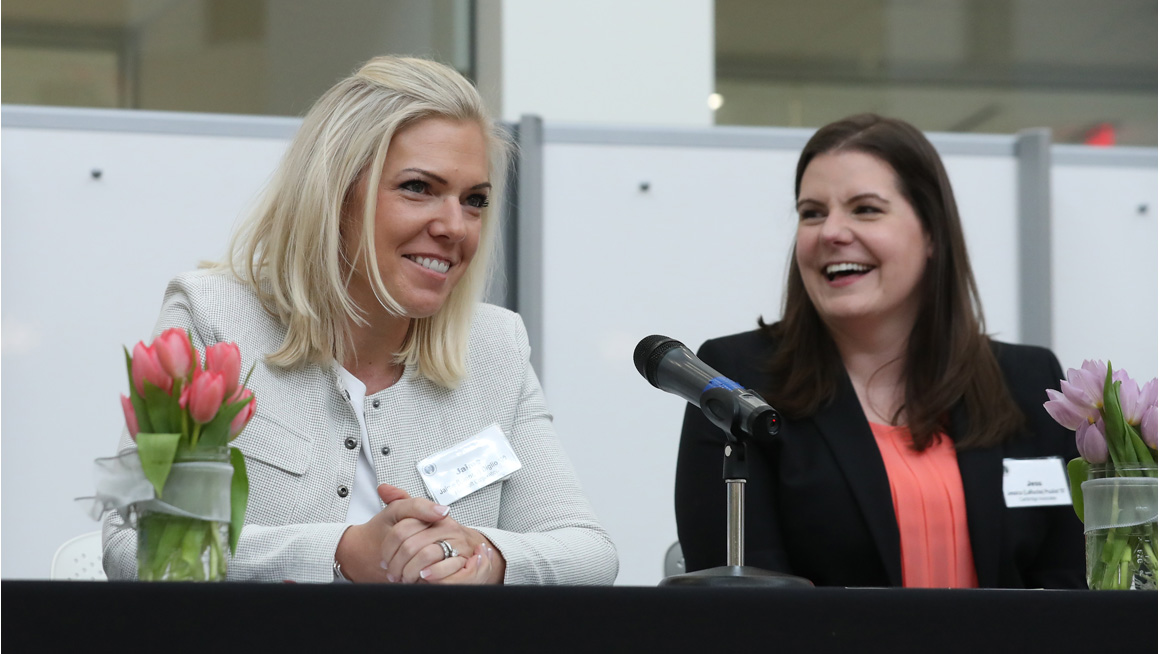 Two Bryant alumnae discuss their careers in finance