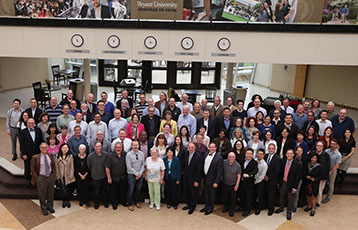 Faculty and Academic administrators at Bryant University