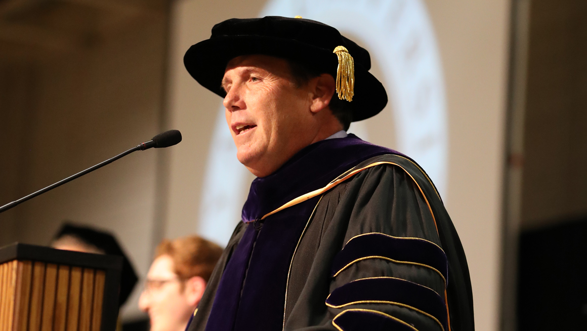 Provost speaks at Opening Convocation